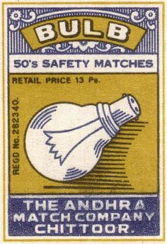 Bulb safety matches