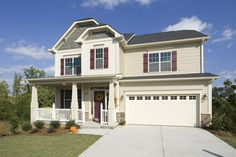 Premier new home builder in the Raleigh, NC area. Known for our state-of-the-art design center and advanced home technologies. We have Homes that Move You! Holly Springs, Home Technology, New Home Builders, Home And Family, New Homes, Floor Plans, Mansions, House Styles, Outdoor Decor