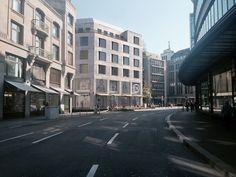 Fassadenstudie Umbau Warenhaus in Zürich von Müller & Truniger Architekten Street View, Architects, House