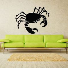 Wall Decal Art Decor Decals Sticker Crab Cancer Sea Ocean Water Sand (M226) DecorWallDecals http://www.amazon.com/dp/B00FWK6BLK/ref=cm_sw_r_pi_dp_rcmYub0HM1R4E