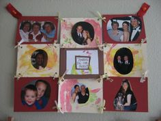 family photo quilt- maybe a disney one for the kids' room or a quote one for the hallway