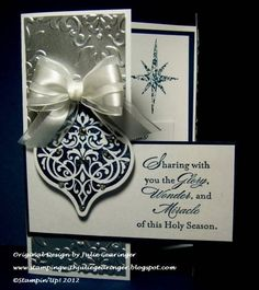 Midnight Silver- Two Challenges in One! by Julie Gearinger - Cards and Paper Crafts at Splitcoaststampers