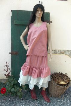 Skirts New Romantic country style skirt by AtelierJoanVilem