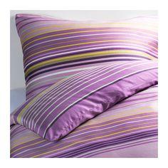 IKEA - PALMLILJA, Dekbedovertrek met 1 sloop, 140x200/60x70 cm, , Beddengoed van satijngeweven lyocell/katoen is erg zacht en biedt een aangenaam slaapcomfort. Door de uitgesproken glans ziet het er prachtig uit op je bed.Lyocell houdt het bed 's nachts luchtig en fris omdat het transpiratievocht absorbeert en transporteert. Dit zorgt voor een gelijkmatige temperatuur als je slaapt.Door de blinde drukknopen blijft het dekbed op zijn plaats.