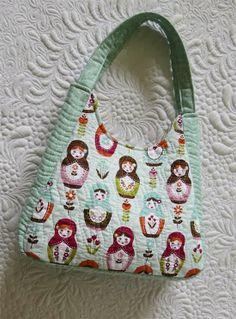 Geta's Quilting Studio: Mini tote bags