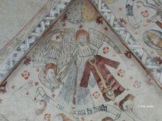 Kalkmålningar: Äspö kyrka