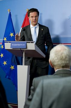 """Persconferentie Europese Raad by Minister-president on Flickr. """"So then I found out that there's this tumblr dedicated to me and I was like, whoa!"""""""