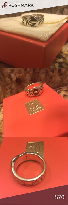 James Avery Belt Buckle Ring Size 8 Super cute! James Avery Jewelry Rings