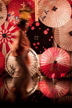 Parasol festival.