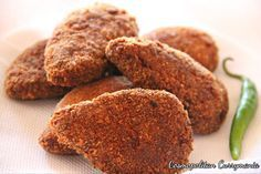 Bengali Style Chicken Cutlets. What makes it so special is my secret spice blend! Recipe: http://www.cosmopolitancurrymania.com/bengali-chicken-cutlets/