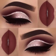 eye makeup is bad makeup classes eye makeup goes with a red lip makeup 2017 step by step makeup under eye makeup night many eye makeup brushes do i need makeup you need Prom Makeup, Cute Makeup, Gorgeous Makeup, Pretty Makeup, Wedding Makeup, Perfect Makeup, Makeup 2018, Homecoming Makeup, Hair Wedding
