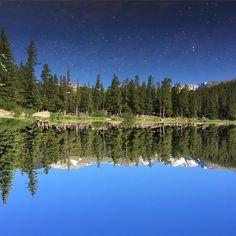 It's all in how you look at it. Echo Lake   Colorado #beautifulcolorado