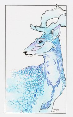 Fallow Stag by ~JMagnus on deviantART