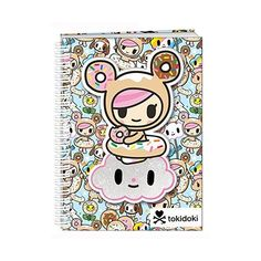 tokidoki Spiral Notebook ($6.18) ❤ liked on Polyvore featuring home, home decor and stationery