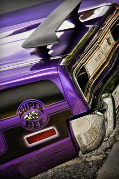 1970 Purple Dodge Coronet Super Bee - by Gordon Dean II