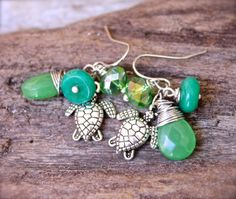 Sea Turtle Jewelry made in Hawaii  Hawaiian by MermaidTearsDesigns, $24.00