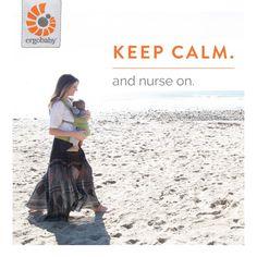 Tips for nursing in an Ergobaby carrier                                                                                                                                                                                 More