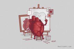 Ilustrações divertidas e criativas de Naolito.