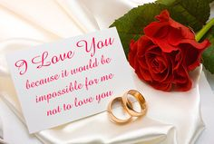 """I love you because it would be impossible for me not to love you"" The BEST reason for loving somebody!   • • • #quote #lovequote #quotes #weddingdecor #weddingplanner #weddinginspiration #weddingplanning #romance #weddingblog #weddingideas #bridalideas #weddings #journal #planner #bridetobe #weddingday  #love #weddingtrends #weddingstyle #styleblog #journals #cards #romantic"