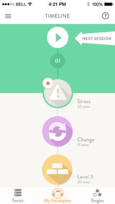 Headspace app | Pinterest