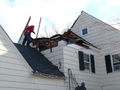Damage caused from tree. http://www.jpmoorehomeimprovements.com/Roofing-Contractor.php