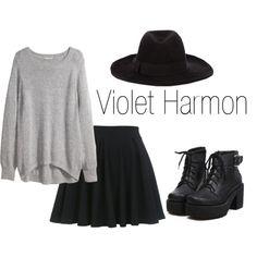 """estilo de """"Violet Harmon"""" …"""