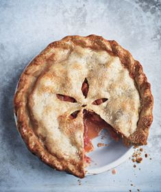 Rhubarb-Strawberry Pie