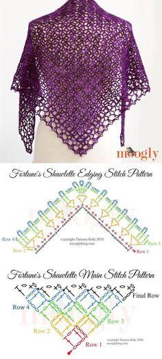 liveinternet.ru Crochet Shawl Diagram, Crochet Lace Scarf, Crochet Hooded Scarf, Crochet Skirt Pattern, Crochet Stitches Patterns, Crochet Chart, Thread Crochet, Crochet Scarves, Crochet Motif