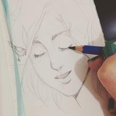 Work in progress #wip #pencil #illustration #sketch