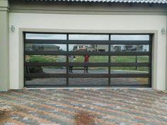 Related image Glass Garage Door, Garage Doors, Roller Doors, Acrylic Panels, Traditional House, Windows, Modern, Image, Trendy Tree