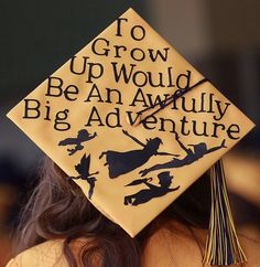 I saw this super cute Disney inspired graduation cap on Instagram from my senior photographer, Marion studios, and I am in love with it!!