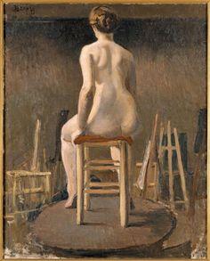 André Derain, étude d'atelier