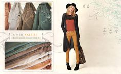 Fall color palette- cords in autumn shades #freepeople #fashion #fall