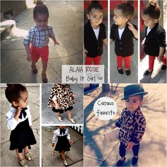 Fashionable Kids - Alaia Rose (Monica Rose's daughter)
