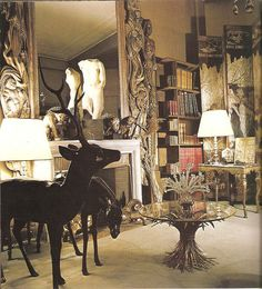 The apartment of Nazi Collaborator, Coco Chanel. However, it has taxidermy in. I am conflicted.