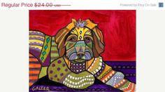 Sale+Ending++Dog+Art++Aussiedoodle+Dog+Art+by+HeatherGallerArt,+$19.68