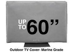 "Waterproof Flatscreen TV Covers to 70"". FREE SHIPPING. Great Reviews. www.hingecovers.com"