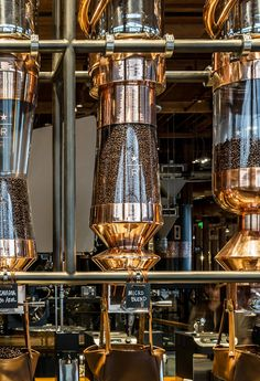 Coffee Silos - Exclusive 'Starbucks Reserve' Cafe