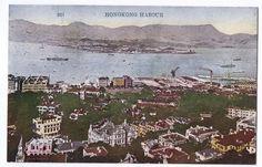 C 1910 China Hong Kong Postcard Hong Kong Harbour | eBay