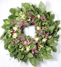Your place to buy and sell all things handmade Dried And Pressed Flowers, Dried Flowers, Dried Flower Wreaths, Botanical Decor, Dried Flower Arrangements, Wreath Crafts, Door Wreaths, Floral Wreath, Wall Decor