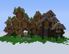 Fantasy Elven City Gates GrabCraft Your number one source for MineCraft buildings blueprints ti Minecraft houses Minecraft architecture Minecraft designs
