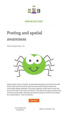 Posting and spatial awareness News Blog, Activities
