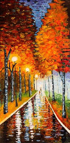 Autumn Night- don't think i could paint this but I am sure going to try...