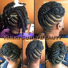 Oldie but goodie #KCBUpdo  Kinky Curly Beauty's Hair Studio, LLC. @solasalons  3780 Riverchase Village - Suite 500 Studio 24 Birmingham, Alabama 35244 www.kinkycurlybeauty.com