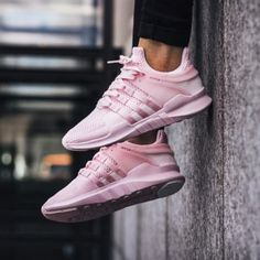 """Women """"Adidas"""" Equipment EQT Support ADV Pink Casual Sports Shoes"""
