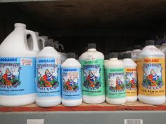 Keep your plants growing strong all summer long with Neptune's Harvest liquid fish and seaweed fertilizers! House plants, outdoor plants, seed germination, compost enhancer...you name it, this  OMRI listed organic product feeds it! Get 'em @Bristol's Garden Center (Victor, Ny)!