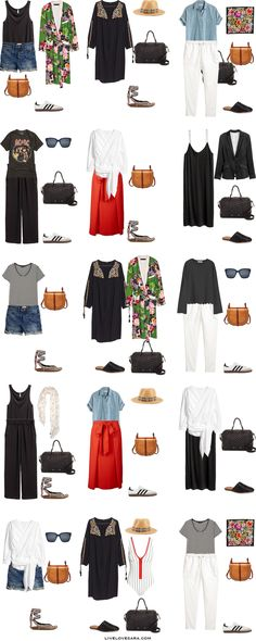 What to Wear in Sydney Australia Packing Light List Outfit Options 16-30 #packinglist #packinglight #travellight #travel #livelovesara