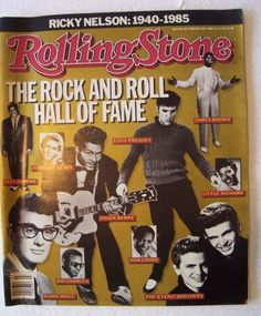 Rolling Stone Magazine ROCK AND ROLL HALL OF FAME 1940 - 1985