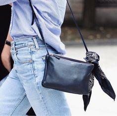 Celine bag & bandana