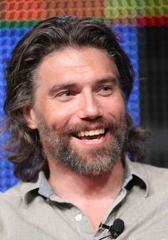 anson mount | Anson Mount Actor Anson Mount speaks during the 'Hell On Wheels' panel ...